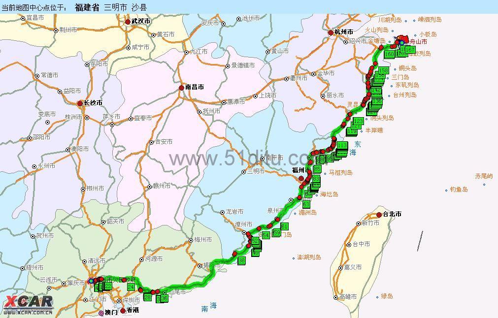 再从宁波过轮渡到舟山岛,就到普陀山风景区了.   附地图: 回复本楼