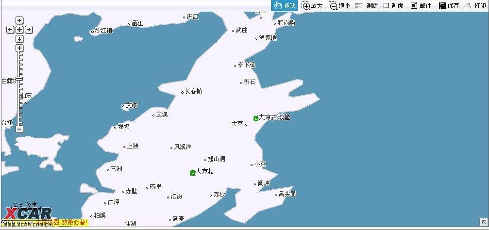 福建霞浦长春地图