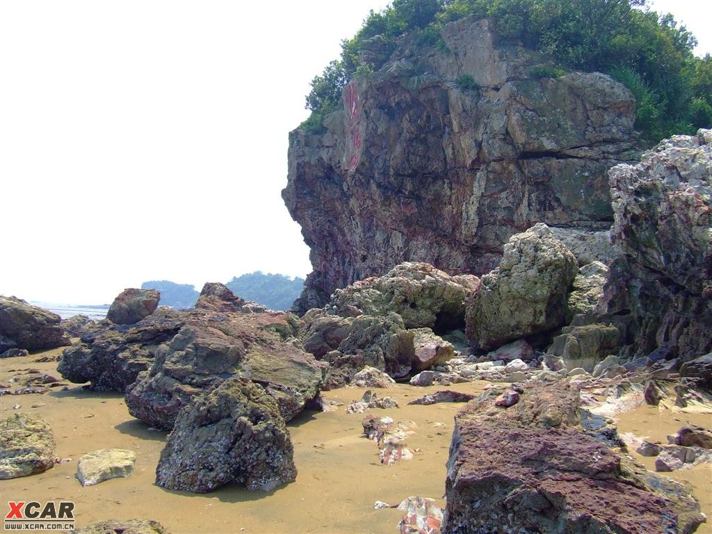 广西防城港自驾游(火山岛,金滩,东兴)