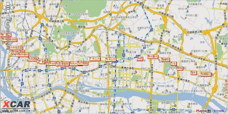 请教:到广州动物园南门的路线
