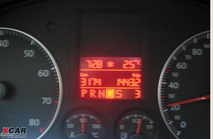 发现行车电脑仪表上出现雪花图标,大家进来瞧瞧高清图片