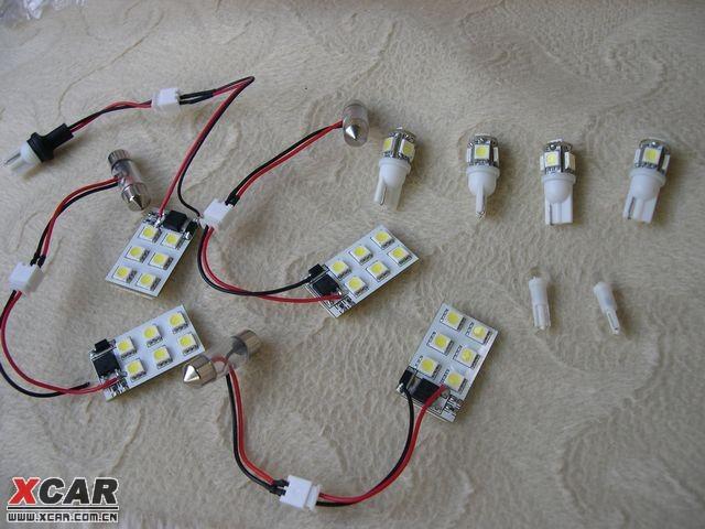 车灯改装的高亮度发光二极管的应用前景