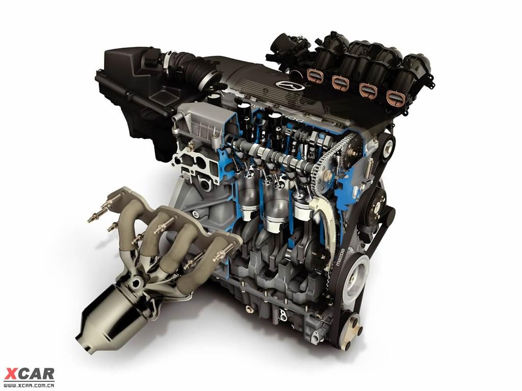 海马发动机解剖图 爱卡汽车高清图片