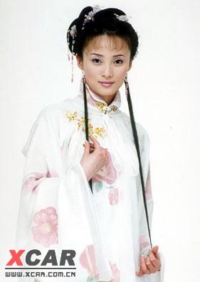 琼瑶古装女手绘图