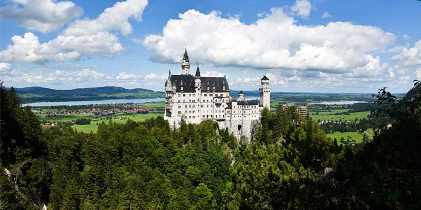 捷瑞奥德20日自由行—巴伐利亚路德维希二世童话城堡