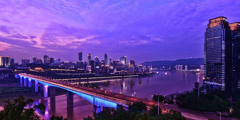 山城江景 俯瞰魅力之都重庆