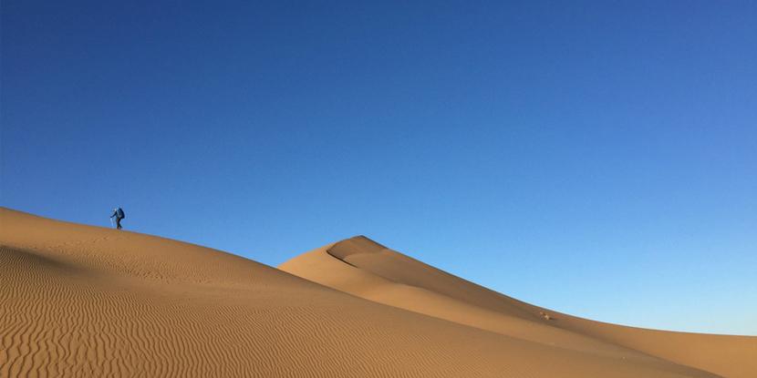 中国最美沙漠---巴丹吉林十一天全程重装徒步