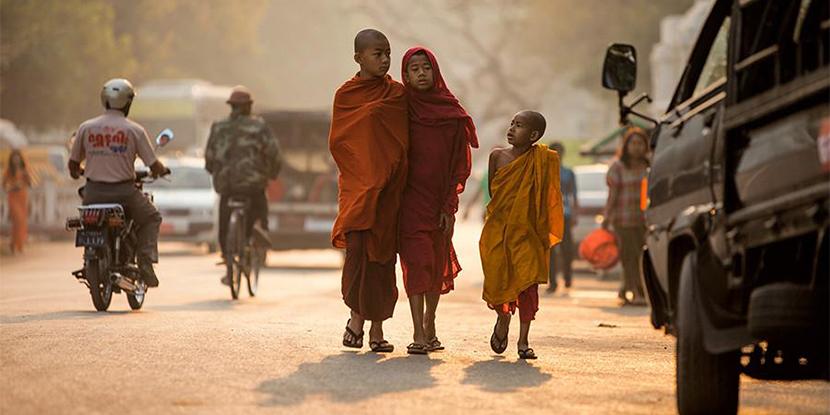 东方神秘的国度―缅甸的心灵之旅