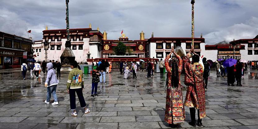 从黑龙江到西藏(二),圆梦布达拉宫