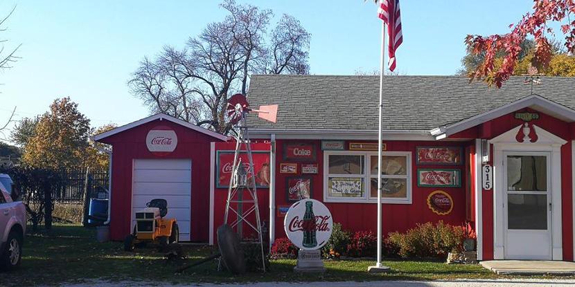 逛66号公路上的汤姆可口可乐收藏馆