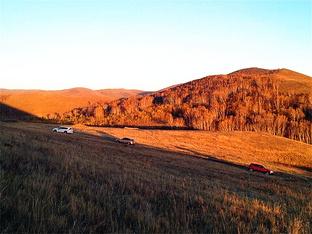 卡友倡导绿色低碳拼车自驾美丽坝上草原
