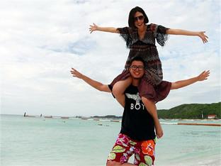 与大黄的泰国自驾之旅送国外比基尼大妞