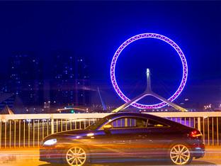 在天津给我的奥迪TT Coupe拍套原创大片