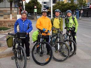 共计560公里 春节河口骑行记
