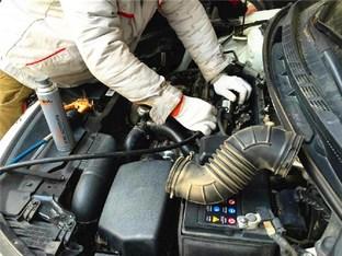 改装达人帮忙 清洗起亚K3油路