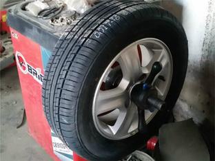 韧性提高 现代i30更换轮胎纪实