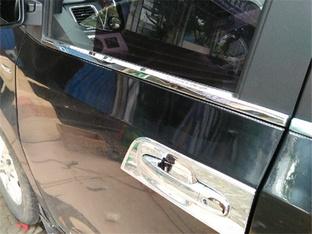 改善外观 G10安装车窗镀铬装饰