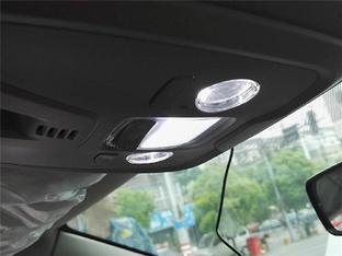 精益求精 标致408换LED内饰灯