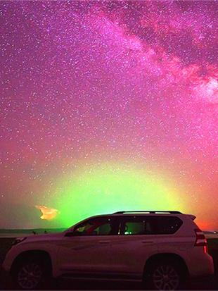 乌拉盖星空璀璨迷人