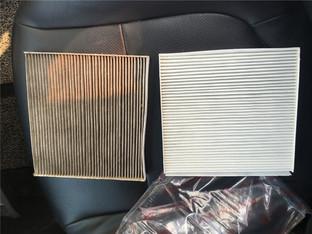 清新空气 福瑞迪更换空调滤芯