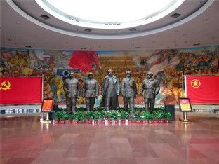 红色印记 参观平津战役纪念馆