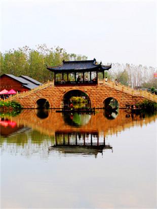访李中水上森林景区