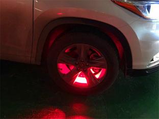冬天里的一把火 汉兰达加装轮圈氛围灯