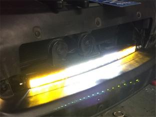 提升亮度不黑暗 自由光加装LED长条射灯