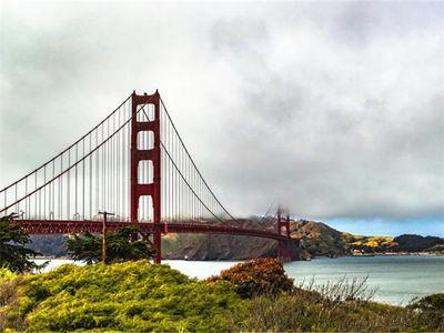 描绘美国旧金山印象