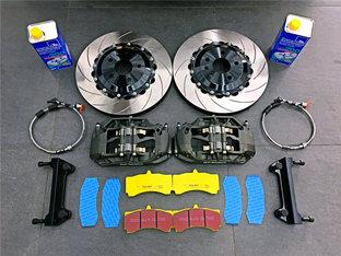 提升性能 明锐RS升级刹车系统