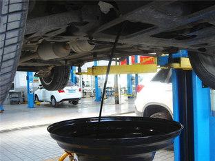 按时维护 长安CS35换机油机滤