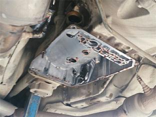 克莱斯勒300C 清洁变速箱阀体