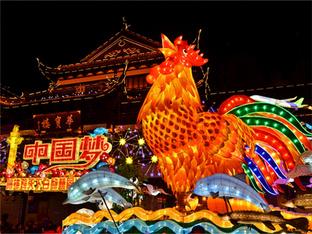 闲逛上海民俗灯会