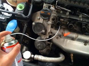 消除抖动 朗逸清洗发动机积碳