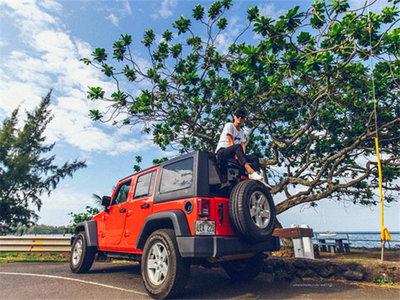 仰望夏威夷星辰大海