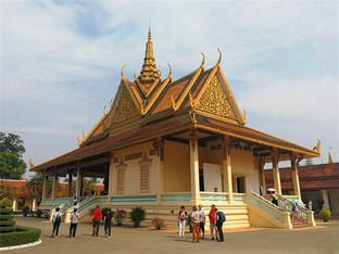 柬埔寨暹粒怪石嶙峋