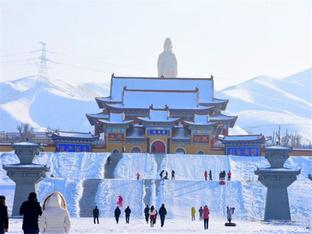 昌吉灵香寺香火旺盛