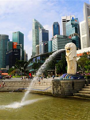 家人陪同前往新加坡