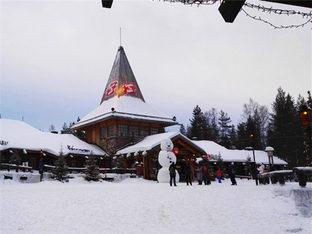 有幸踏进北极圈 在赫尔辛基看耀眼极光