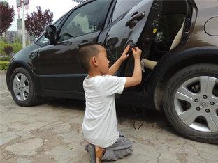 """培养""""卡二代"""" 天语SX4加装汽车防撞条"""