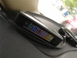 安全至上 晶锐安装胎压监测仪