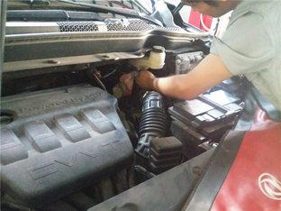 疲软无力 风神AX7更换刹车总泵