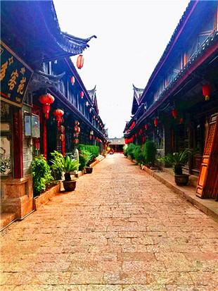 漫步于丽江大研古城