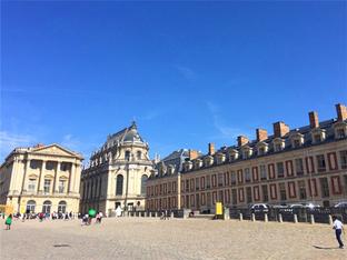 设计充满想象力 巴黎凡尔赛宫闻名于世