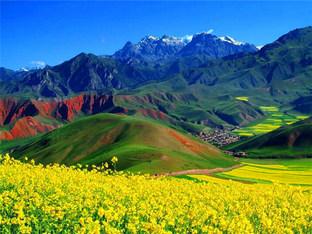 """素有""""万宝山""""之称 祁连山脉资源丰富"""
