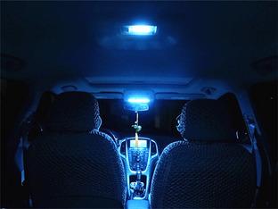 犹如蓝色幽灵 英朗XT更换LED冰蓝阅读灯