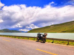 寻那片蓝 单枪匹马西藏摩旅记