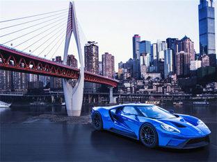 性感后背 大爱蓝色全新福特GT