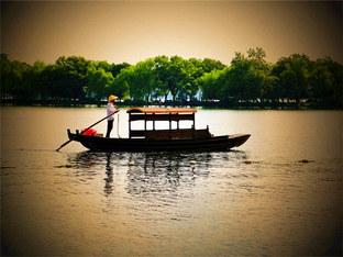 惊鸿一瞥杭州西湖美