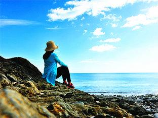 观威克洛角白云礁石